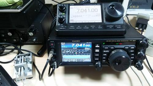YAESU FT-991でRTTY ~USBケーブルでつなぐだけ~